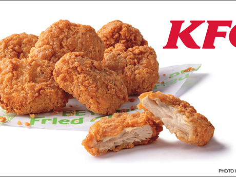 KFC hợp tác với công ty Nga sản xuất thịt gà trong phòng thí nghiệm | Ẩm thực | Vietnam+ (VietnamPlus)