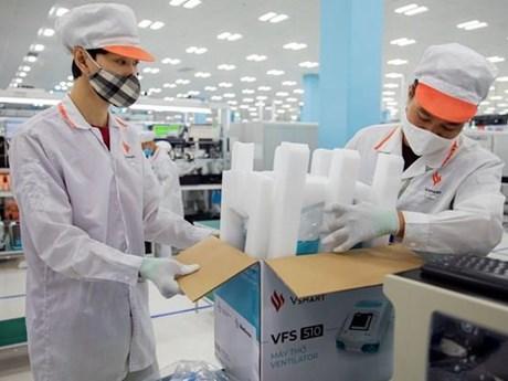 Chiêm ngưỡng dây chuyền sản xuất máy thở 'Made in Việt Nam'
