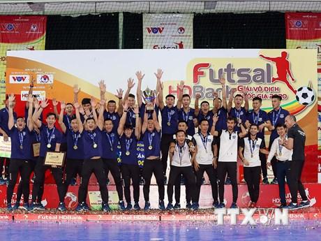 Thái Sơn Nam xưng vương lần thứ 10 tại giải vô địch quốc gia Futsal