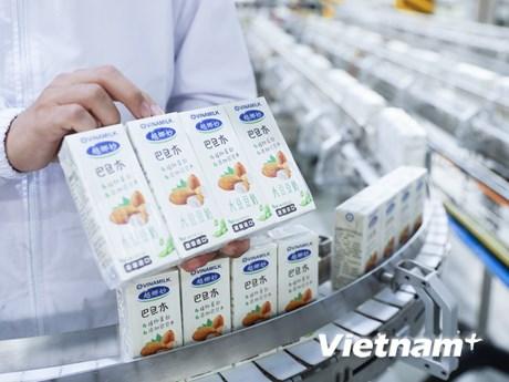 Vinamilk mở hàng năm mới  xuất khẩu lô hàng lớn-Tin vui cho ngành sữa