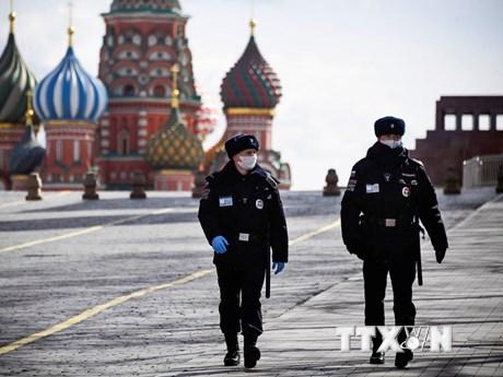 Nga: Số người nhiễm SARS-CoV-2 vượt ngưỡng 10.000