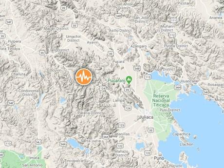 Peru: Động đất cường độ 6,1 độ làm rung chuyển toàn bộ tỉnh Lampa