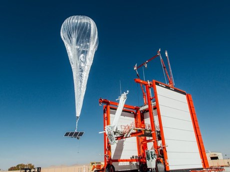 Ra mắt dịch vụ Internet khinh khí cầu đầu tiên trên thế giới tại Kenya | Công nghệ | Vietnam+ (VietnamPlus)