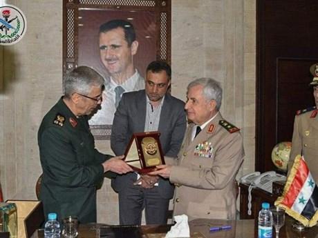 Iran và Syria ký thỏa thuận mở rộng hợp tác quân sự toàn diện | Trung Đông | Vietnam+ (VietnamPlus)