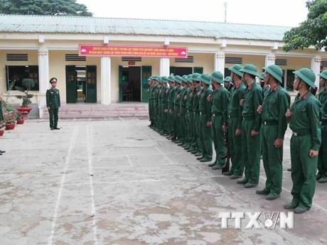 Chế độ, chính sách trong xây dựng, huy động lực lượng dự bị động viên | Chính trị | Vietnam+ (VietnamPlus)