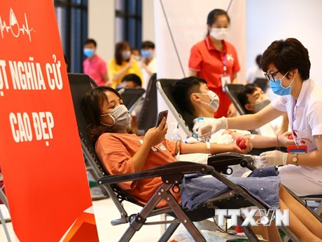 Dịch COVID-19: Đẩy mạnh hoạt động hiến máu trong tình hình mới