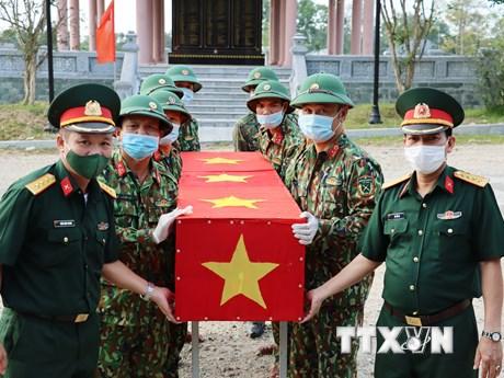Thừa Thiên-Huế đón nhận, quy tập 14 hài cốt liệt sỹ hy sinh tại Lào - xs thứ ba