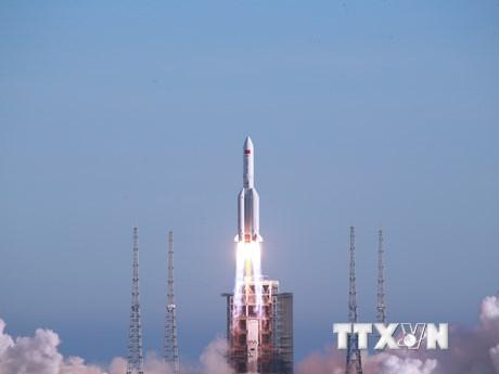 Trung Quốc dự báo điểm rơi của mảnh vỡ tên lửa Trường Chinh 5B