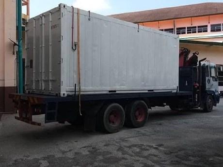 Bệnh viện Malaysia phải dùng container lạnh giữ xác người chết vì dịch | Sức khỏe | Vietnam+ (VietnamPlus)