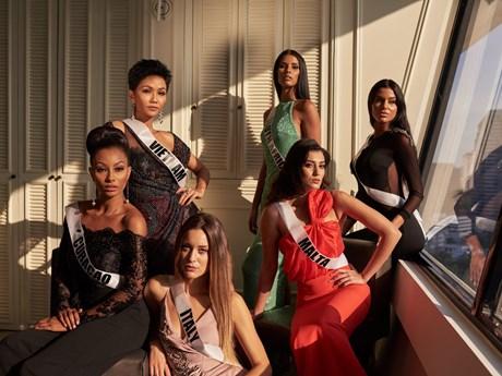 Miss Universe: H'Hen Niê 'cháy' hết mình ở Sponsor Dinner