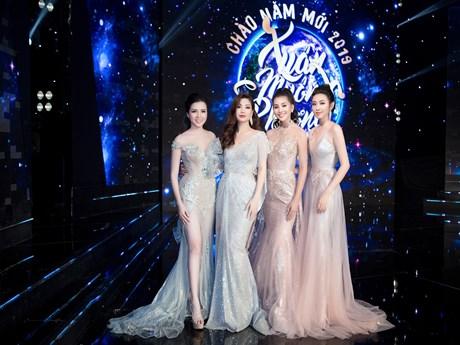 [Photo] Ngắm thời trang đón năm mới của dàn Hoa hậu, Á hậu Việt Nam