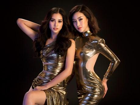 Ngắm đường cong nóng bỏng của hai Đại sứ Miss World Việt Nam