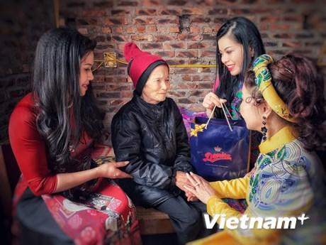 Chuyến thiện nguyện ấm áp yêu thương đầu Xuân của các Đại sứ Nhân ái