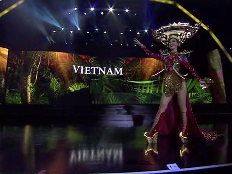 Miss Grand International: Kiều Loan nói về sự cố phần thi quốc phục | Văn hóa | Vietnam+ (VietnamPlus)