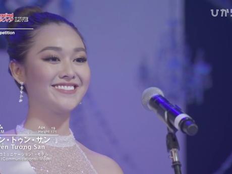 Chung kết Miss International: Tường San lập kỷ lục, lọt top 8