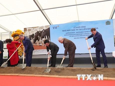 Tổng Bí thư dự lễ khởi công dự án của TH True Milk tại Kaluga