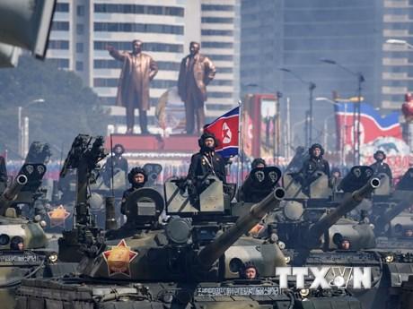 Cận cảnh lễ diễu binh nhân dịp 70 năm Quốc khánh của Triều Tiên