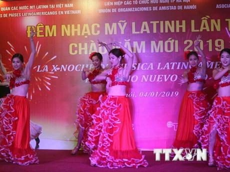 Đêm nhạc Mỹ Latinh lần thứ 10 tại Hà Nội: Sôi động và ấn tượng