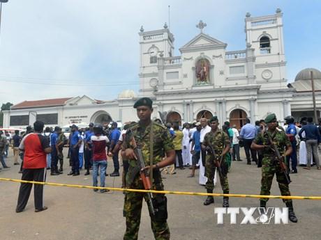 Sáu vụ nổ liên tiếp ở Sri Lanka khiến hơn 300 người thương vong | Châu Á-TBD | Vietnam+ (VietnamPlus)