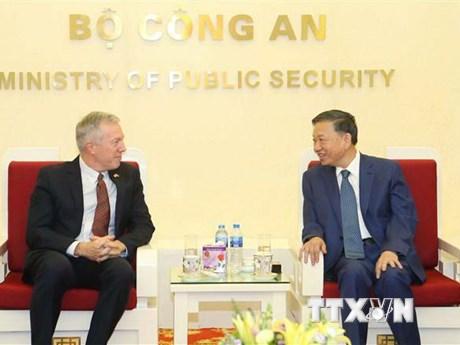 Bộ Công an Việt Nam và Google nghiên cứu mở rộng hợp tác | Công nghệ | Vietnam+ (VietnamPlus)