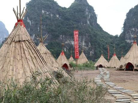 Tháo dỡ phim trường 'Kong: Skull Island' tại Khu du lịch Tràng An   Du lịch   Vietnam+ (VietnamPlus)