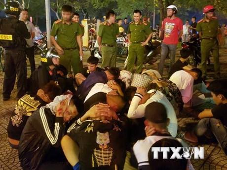Đua xe sau trận bóng đá Việt Nam-Indonesia: Khởi tố hai bị can