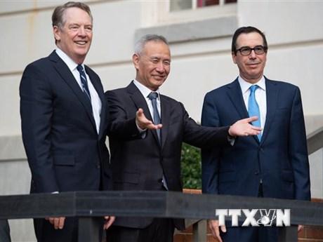 Mỹ-Trung Quốc thông báo đạt tiến triển về đàm phán thương mại | Kinh doanh | Vietnam+ (VietnamPlus)