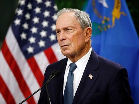 Tỷ phú Michael Bloomberg tham gia tranh cử Tổng thống Mỹ | Châu Mỹ | Vietnam+ (VietnamPlus)