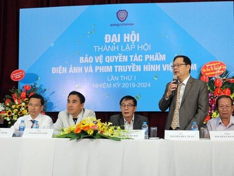 Ra mắt Hội Bảo vệ quyền tác phẩm điện ảnh và phim truyền hình Việt Nam | Điện ảnh | Vietnam+ (VietnamPlus)
