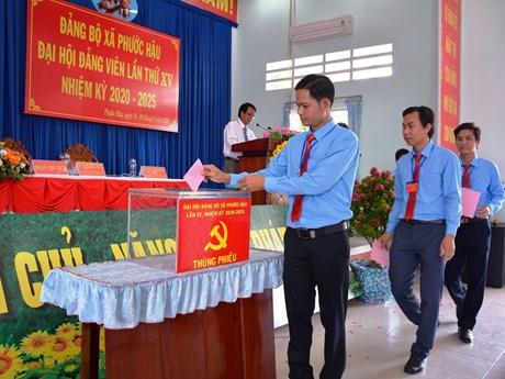 Nhiều Kinh Nghiệm Rút Ra Từ Đại Hội Điểm Đảng Bộ Cấp Xã Ở Long An   Chính Trị   Vietnam+ (vietnamplus)