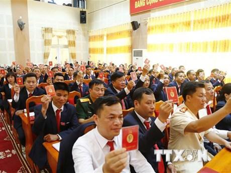 Năm bài học để tổ chức thành công đại hội đảng bộ cấp trên cơ sở | Chính trị | Vietnam+ (VietnamPlus)