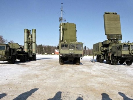 Hệ thống S-500 của Nga có thể chống lại vũ khí siêu thanh trên vũ trụ   Châu Âu   Vietnam+ (VietnamPlus)