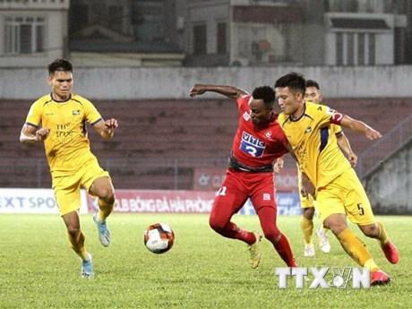 V-League 2020: Hải Phòng giành ba điểm quý giá trên sân nhà