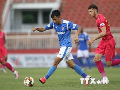 V-League 2020: Sài Gòn FC giữ ngôi đầu bảng sau giai đoạn 1