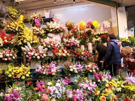 Thị trường hoa và quà tặng sôi động trong Ngày Nhà giáo Việt Nam