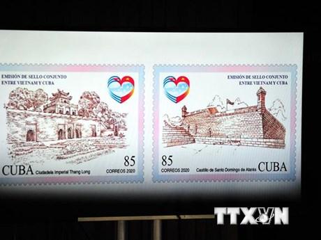 60 năm quan hệ ngoại giao Việt Nam-Cuba: Phát hành bộ tem chung