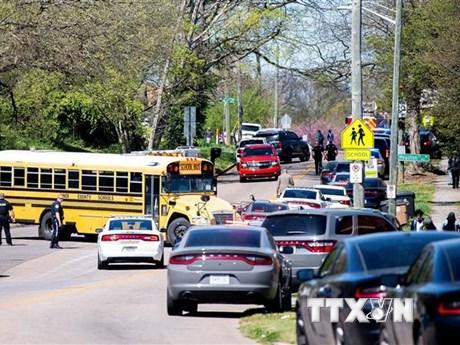 Tiêu diệt nghi phạm trong vụ xả súng tại trường học ở Mỹ