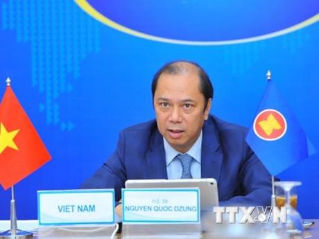 Thứ trưởng Nguyễn Quốc Dũng: Sớm hoàn tất Khung hành lang đi lại ASEAN - mega 645