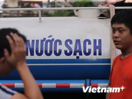 Nước sạch sông Đà được Viwasupco cấp cho Hà Nội đã an toàn