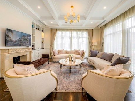 Hình ảnh đầu tiên về biệt thự mẫu Vinhomes Star City Thanh Hóa