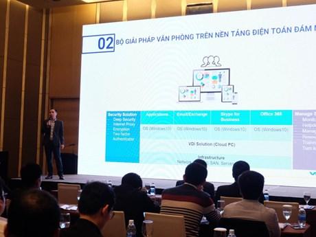 Thời đại của văn phòng 'trên mây' và bài toán an toàn dữ liệu | Sản phẩm mới | Vietnam+ (VietnamPlus)