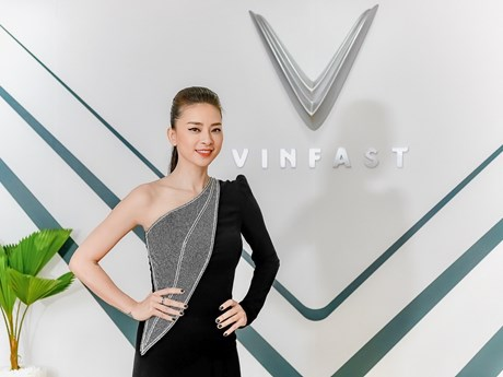 Ngô Thanh Vân: Tôi và VinFast chia sẻ chung một niềm đam mê | Ôtô-Xe máy | Vietnam+ (VietnamPlus)