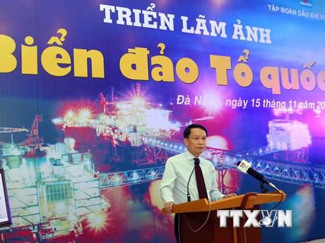 TTXVN triển lãm những khoảnh khắc công cuộc bảo vệ biển, đảo