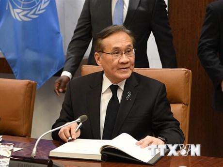ASEAN hoan nghênh việc cải thiện hợp tác với Trung Quốc về Biển Đông