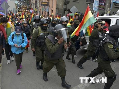 Quân đội Bolivia sẽ phối hợp với cảnh sát duy trì ổn định