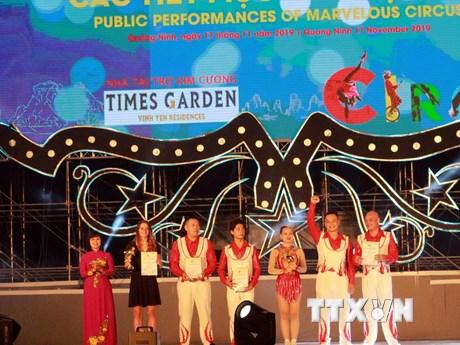 Nghệ sỹ Việt Nam đạt giải vàng trong Liên hoan Xiếc thế giới Hạ Long