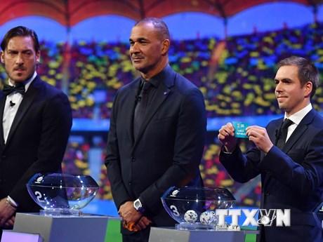 Bốc thăm vòng chung kết EURO 2020: Tử thần gọi tên bảng F | Bóng đá | Vietnam+ (VietnamPlus)