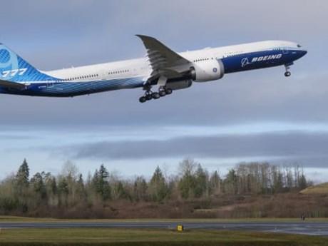 Mẫu máy bay Boeing 777X bay thử nghiệm chuyến đầu tiên