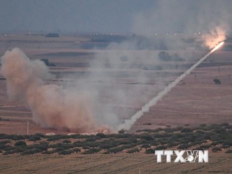Liên hợp quốc đặc biệt quan ngại về đụng độ giữa Thổ Nhĩ Kỳ và Syria | Trung Đông | Vietnam+ (VietnamPlus)