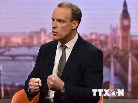 Ngoại trưởng Anh: Đảm bảo thực thi các kế hoạch của Thủ tướng Johnson